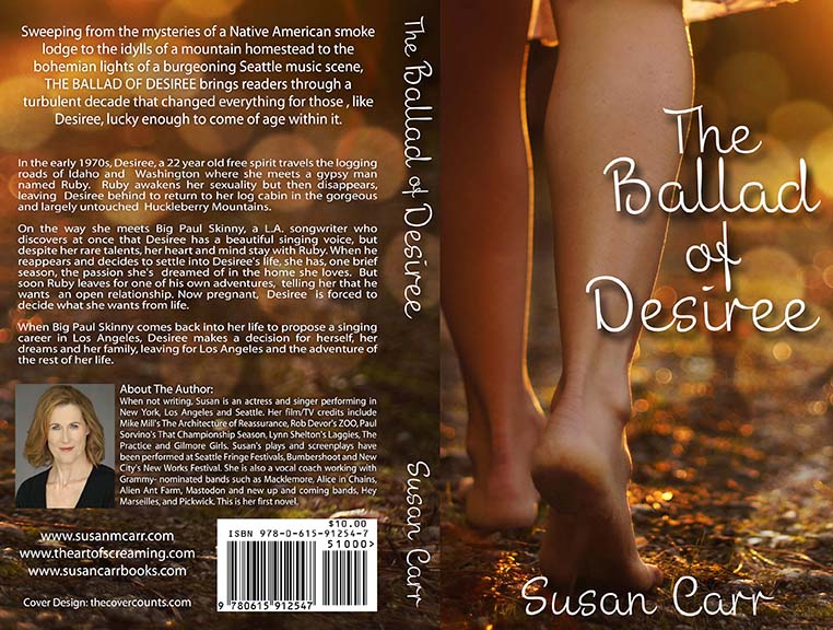 The Ballad of Desiree Front and Back Artwork